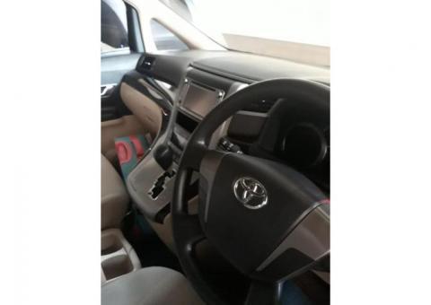 Dijual Toyota Alphard X