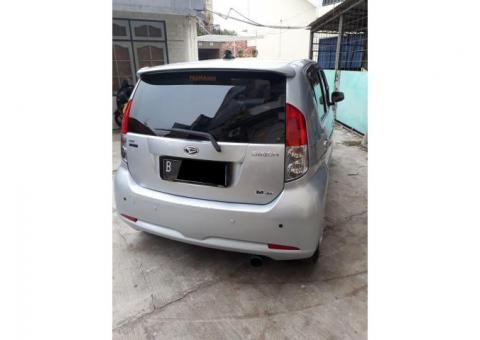 Daihatsu sirion m 1.3 matic bagus normal th 2007 bln 12 abu2/silver ful ori
