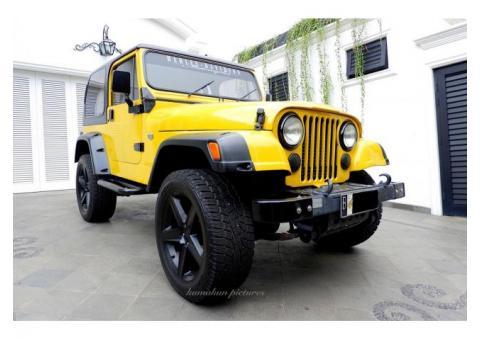 Jeep CJ7 Laredo 4.200cc Th 1982 Bensin