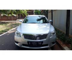 Toyota Camry V 2.4 cc Facelift Th'2009 Automatic Service record