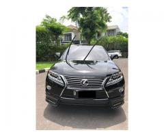 Lexus RX270 Japan Th 2013 nik 2012 Black