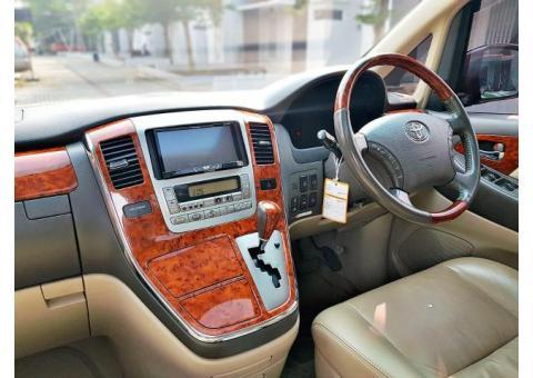 Toyota Alphard type V 3.0 V6 TANGAN PERTAMA Low Millage no alpard