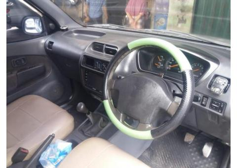 Daihatsu taruna FGX 2002 mesin kering dan halus