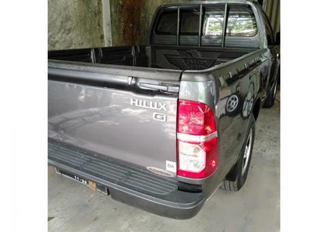 Hilux G Manual Diesel 2014