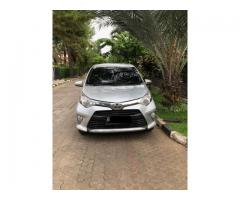 Toyota Calya G matic th 2017 silver metalik