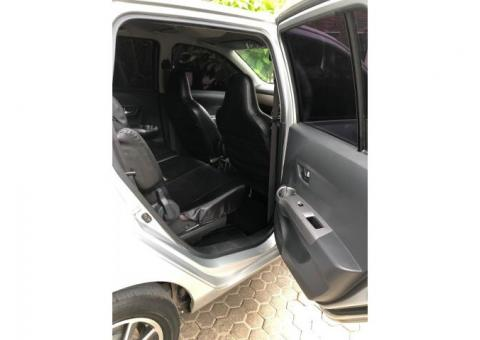 Toyota Calya G matic th 2017 silver metalik