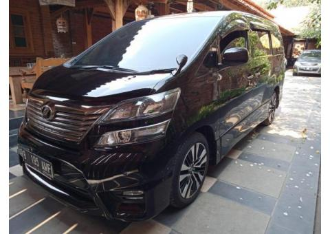 Toyota Vellfire Z Audio Less 2011 Istimewa