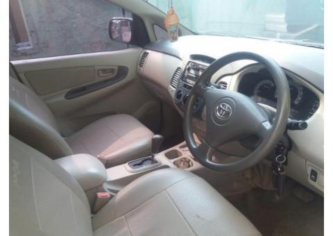 Dijual santai Toyota kijang Inova G at 2.0 Th 2010 tangan pertama