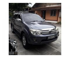 Fortuner G 2.5 Manual Diesel 2010