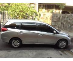 Dijual Honda Mobilio Type E-CVT 2014 Matic Siver Metalic Cash