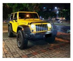 Jeep Wrangler Rubicon 2 Door Th 2008 Rare Color Yellow