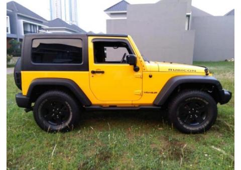Jeep Wrangler Rubicon 2 Door Th 2008 Rare Color Yellow