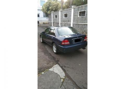 Honda city Z vtech manual 2001 biru met ors