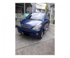 Daihatsu xenia 1.0 li Minibus th 2004 biru met ful orisinil