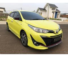 Toyota Yaris 2018 TRD Sportivo AT Siap Pakai KM Rendah