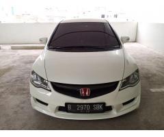 Honda Civic FD1 2011 Putih Rare Terawat