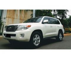 Toyota Land Cruiser 2013 VX ATPM White
