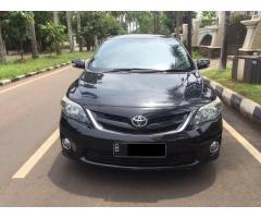 Toyota Altis 2.0 V AT thn 2011 Hitam Good Condition