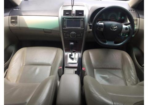 Toyota Altis 2.0 V AT thn 2011 Hitam Good Condition