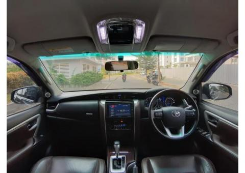 Toyota Fortuner VRZ 2016 Hitam Like New!!