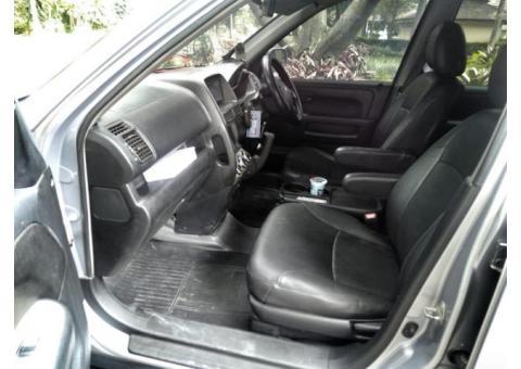 Jual Mobil Honda CRV 2002 Silver Kesayangan