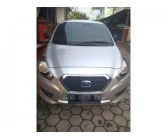 Datsun Go+ Panca T Opt Silver 2014, Km Rendah, Full Asesoris