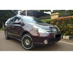 Grand Livina AT Ultimate Merah 2011 Good Condition TDP 6 Jt