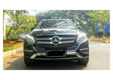 Mercedes Benz GLE 250 Diesel 2016 Pemakaian 2017 Hitam