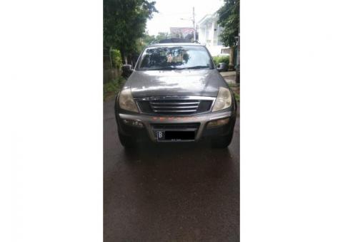 Ssang yong Rexton Mercy RX 280 deluxe matic 4WD 2003/2004 abu2 met ors