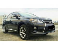 Lexus RX270 Japan 2013 F-Sport Panoramic 2TV Full Spec Low