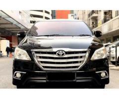 Toyota kijang innova 2,0 V tahun 2014