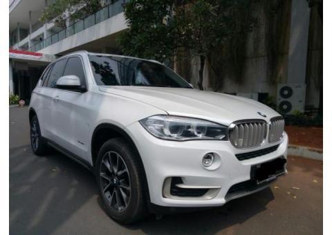 BMW X5 White Th 2014 Facelift Bensin