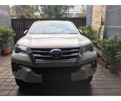 Toyota Fortuner VRZ 2017 Istimewa