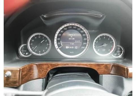 Mercy E200 Nik 2011 Hitam tgn1