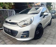 All New Kia Rio 1.4 Matik Tiptronic pemakaian Oktober 2016 asli DK low km