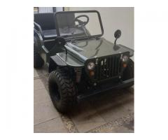 Mobil Mini Jeep Willys 150cc (BEKAS/ MULUS/ Original/ Tahun 2018)