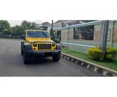 Jeep Wrangler Rubicon 2Door Th 2008 Rare Color Yellow