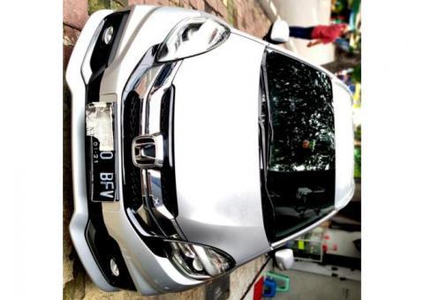 Honda Mobilio RS MT Th 2015 Silver, Tgn1, KM 21Rb ASLI, Pajak Panjang 1Thn, Tdp 10Jt