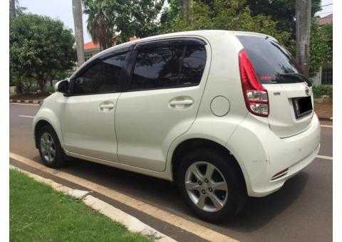 Daihatsu Sirion D AT 2013 Putih Good Condition TDP 7jt