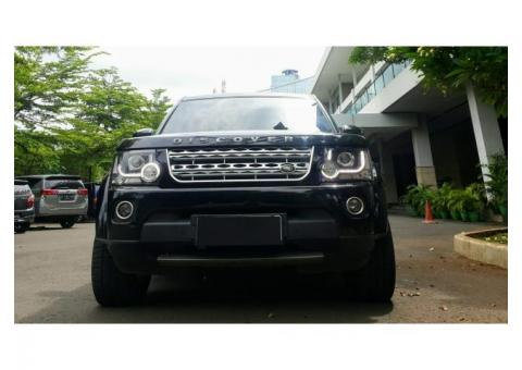 Land Rover Discovery 4 2014 3.0 Bensin Black On Black
