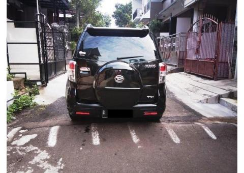 Daihatsu Terios Tx Facelift 2013 manual warna hitam tangan 1