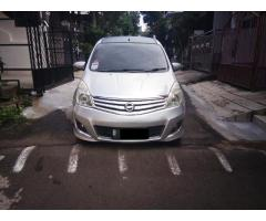 Nissan Grand Livina XV Ultimate 1.5 2010 matic warna silver