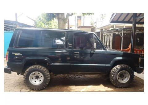 Chevrolet Trooper th 87 manual 4x4 Diesel