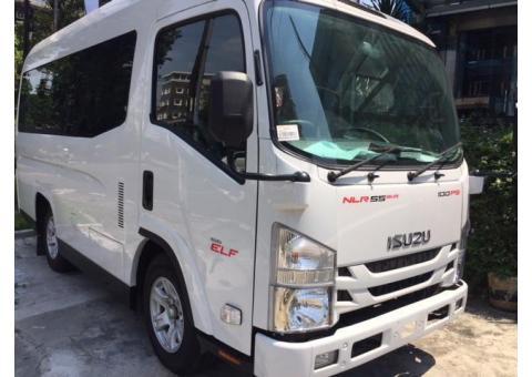 Isuzu Elf Nlr Minibus 16 Seat Tahun 2018 ( Mobil Baru )