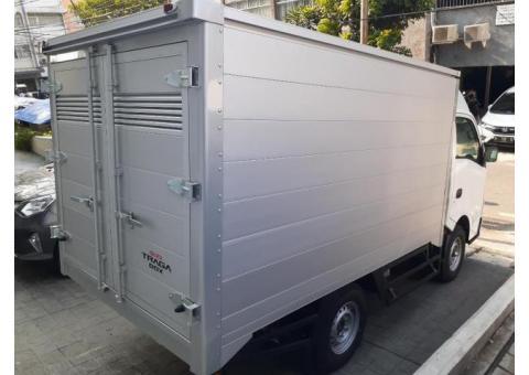Isuzu Traga Box Aluminium Th.2020 ( Mobil Baru )