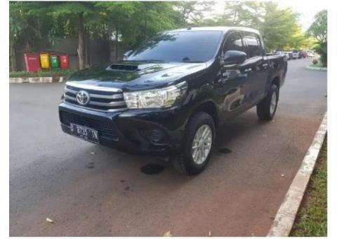 Toyota Hilux 2.5 E Diesel Manual 2017 Dobel Cabin 4x4