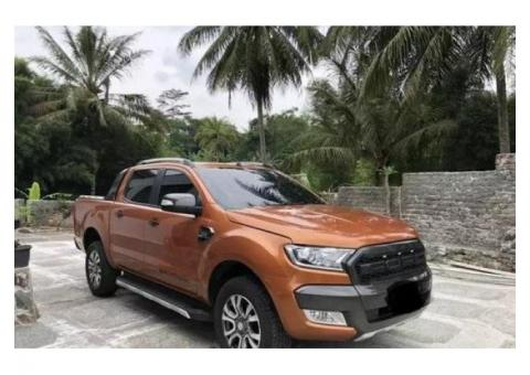 Ford Ranger Wildtrack 4X4 Double Cabin 2015 AT