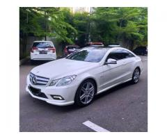 Mercy E250 Coupe 2011 Putih Tgn1