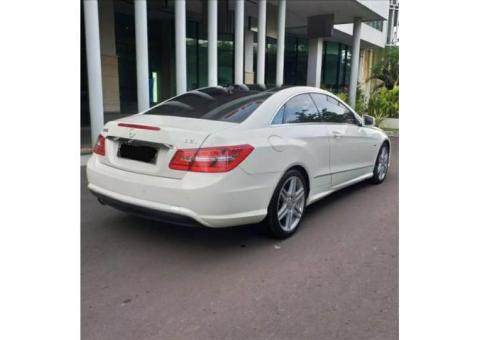 Mercy E250 Coupe 2011 Putih Tgn1