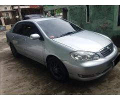 Toyota corolla Altis G 2004 manual